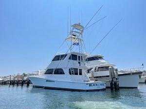 Black & Blue  2 Black & Blue  1998 VIKING Enclosed Bridge Cruising Yacht Yacht MLS #272506 2
