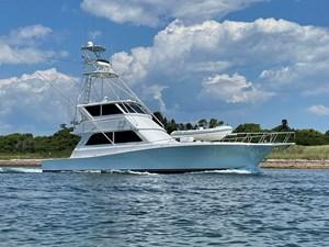 Black & Blue  1 Black & Blue  1998 VIKING Enclosed Bridge Cruising Yacht Yacht MLS #272506 1