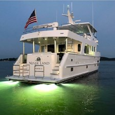 NEVER LAND 1 NEVER LAND 2017 OUTER REEF YACHTS 700 MY Motor Yacht Yacht MLS #272537 1