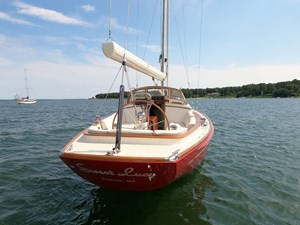 SWEET LUCY 30 Stern View