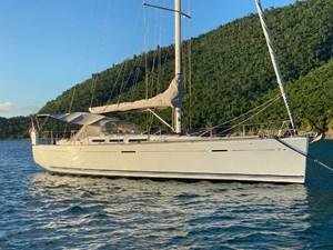 KATERINA 37 At Anchor