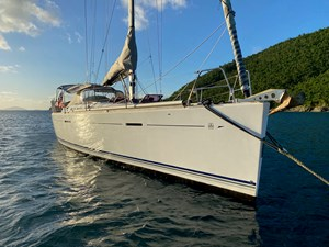 KATERINA 13 Starboard Bow on Mooring