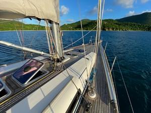 KATERINA 17 Starboard Side Deck Looking Forward