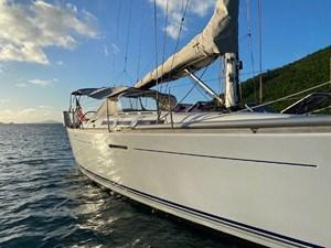 KATERINA 21 Starboard Topsides Detail