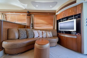 See Horse 3 Main Salon to Starboard with Flat Screen LCD TV 32