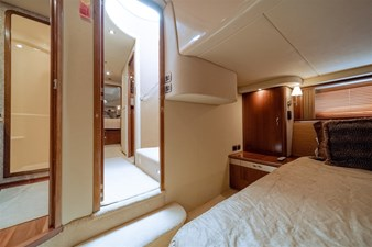 See Horse 13 Master Stateroom Entry with Raised Wood Panel Doors