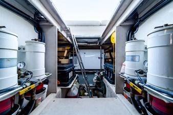 See Horse 56 Engine Room - Onan Diesel Generator 17KW in Sound Shield