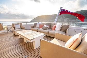 GITANA 26 Bridge Deck Aft Lounge