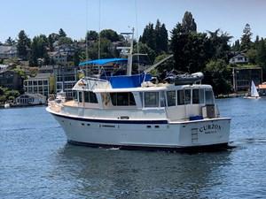 Curzon 4 Curzon 1980 HATTERAS 58 Long Range Cruiser Trawler Yacht Yacht MLS #272640 4