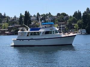 Curzon 1 Curzon 1980 HATTERAS 58 Long Range Cruiser Trawler Yacht Yacht MLS #272640 1