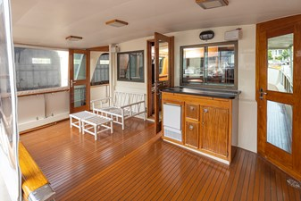 Curzon 5 Curzon 1980 HATTERAS 58 Long Range Cruiser Trawler Yacht Yacht MLS #272640 5