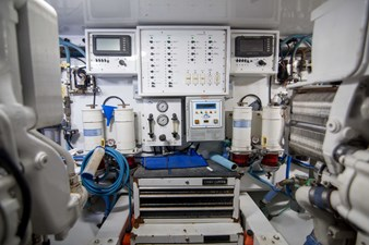 Michi 63 Engine Room
