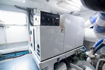 Michi 68 Engine Room