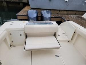 SEAVICHE 20 Fold Down Transom Seating