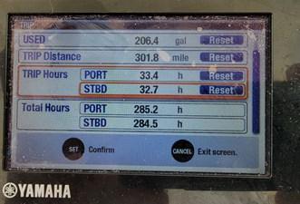 SEAVICHE 6 Engine Hours