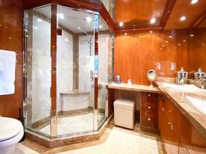 CynderElla 9 On Deck Master Stateroom Shower and Head