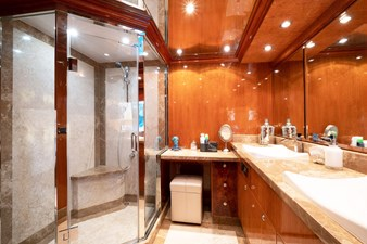 CynderElla 10 Master Stateroom Shower and Head