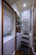 JEANNIETINI 42 Laundry Area and Engine Room Entrance