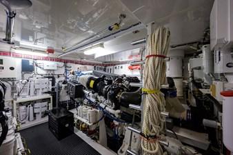 JEANNIETINI 44 Engine Room
