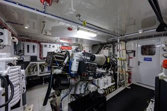JEANNIETINI 45 Engine Room