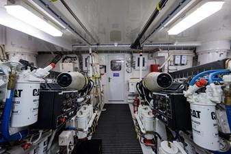 JEANNIETINI 46 Engine Room