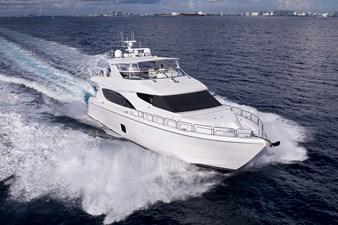 JEANNIETINI 54 Starboard Bow Running