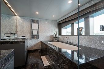 Liberty 19 14. Master stateroom bathroom