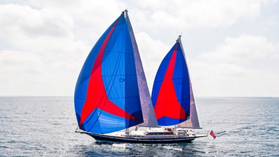 Southwind Of 1 In Full Sail