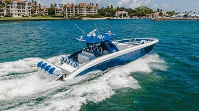 No Name Midnight Express 2 No Name Midnight Express 2017 MIDNIGHT EXPRESS QUAD Open Motor Yacht Yacht MLS #272667 2