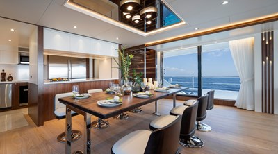 THE ROCK 20 Dining and Galley