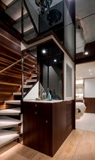 THE ROCK 24 Staircase to Guest Staterooms