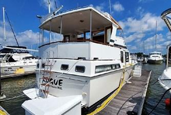 Rogue 1 Rogue 1986 HERITAGE EAST 42 Trawler Yacht Yacht MLS #272744 1