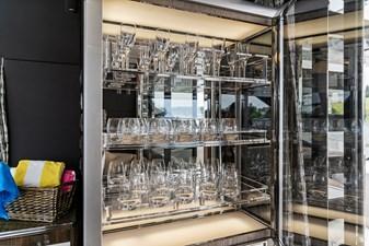 Anonymous 36 Salon Glassware Storage