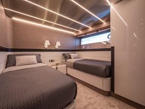 MyOhana 15 Lower deck :Twin guest cabin