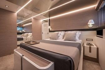 MyOhana 18 Lower deck : port double guest cabin