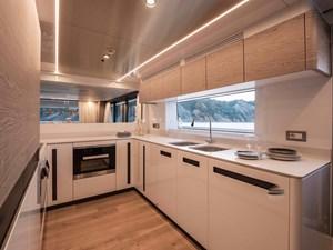 MyOhana 22 Upper deck: kitchen