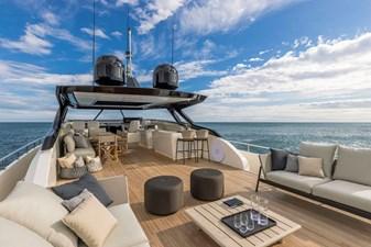 Ferretti Yachts 1000 2 Ferretti Yachts 1000 2023 FERRETTI YACHTS 1000 Motor Yacht Yacht MLS #272839 2