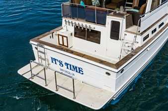IT'S TIME 5 IT'S TIME 1988 OFFSHORE YACHTS Cockpit Motoryacht Motor Yacht Yacht MLS #272846 5