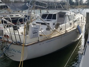 Matross 2 Matross 1980 C & C YACHTS 48 Landfall Pilothouse Sloop Yacht MLS #272851 2