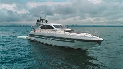 Querencia 3 Querencia 2004 MANGUSTA Hardtop Motor Yacht Yacht MLS #272896 3