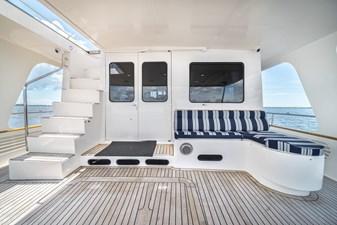 Nautical Nut 9 Aft Deck facing Forward