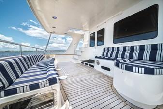 Nautical Nut 10 Aft Deck facing Portside