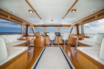 Nautical Nut 29 Commandbridge facing Forward