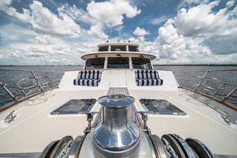 Nautical Nut 33 Bow facing Aft