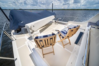 Nautical Nut 38 Upper Aft Deck