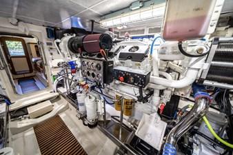 Nautical Nut 48 Portside Engine