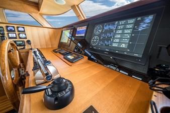 Nautical Nut 32 Commandbridge Helm