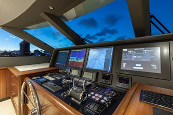 LUCKY LADY 16 PILOTHOUSE CONSOLE