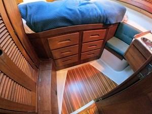 LUNA 12 Forward Cabin Berth Storage