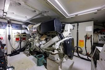 Vivere 68 Engine Room